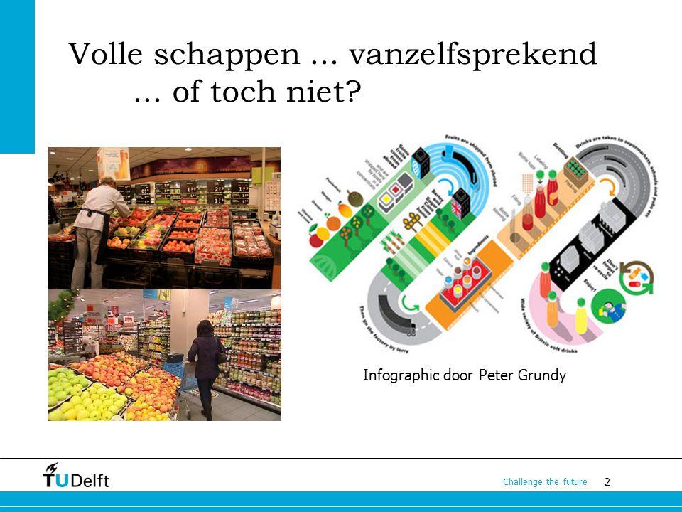 13 Challenge the future De Markt Grote diversiteit in hoe vraag en aanbod elkaar vinden bij verschillende modaliteiten Hoe ziet de synchromodale markt er uit.