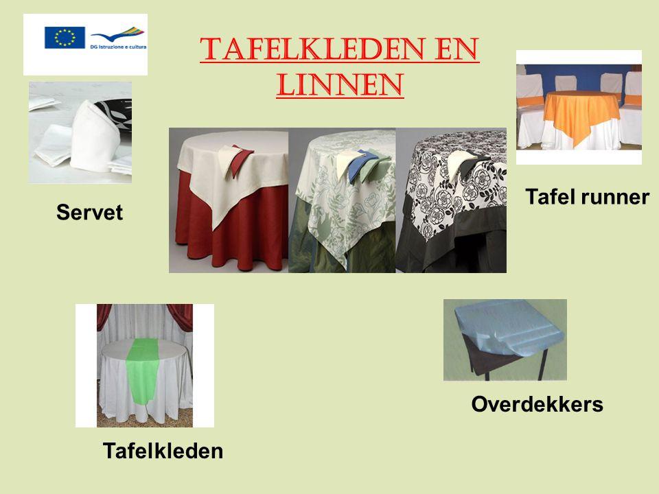 Tafel runner Servet Overdekkers Tafelkleden Tafelkleden en Linnen