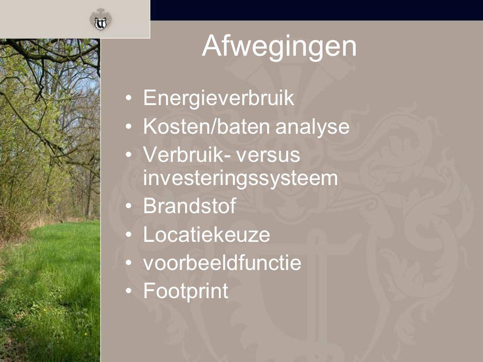 Samenwerking Vergunningen Mogelijkheden Afname warmte Af-/aanvoer tak- en tophout