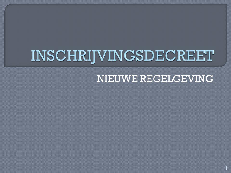 NIEUWE REGELGEVING 1