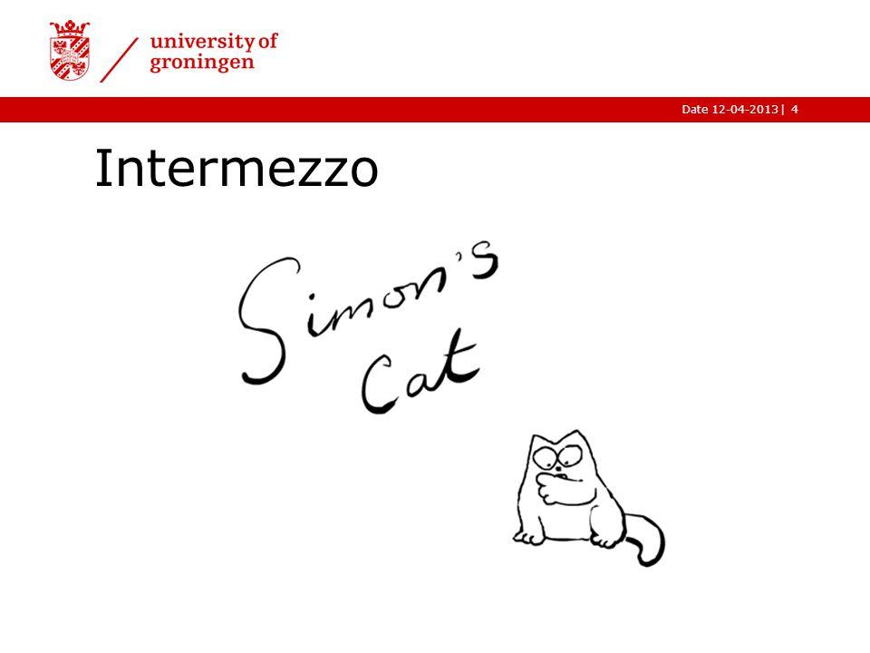 |Date 12-04-2013 Intermezzo 4