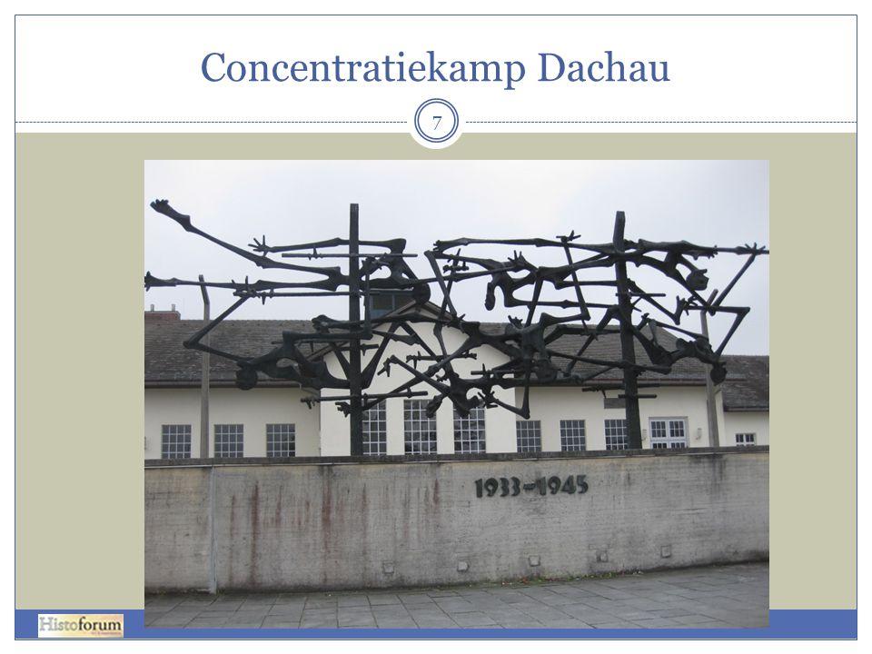 8 Gevangenkamp Concentratiekamp SS Traningskamp Kruidentuin