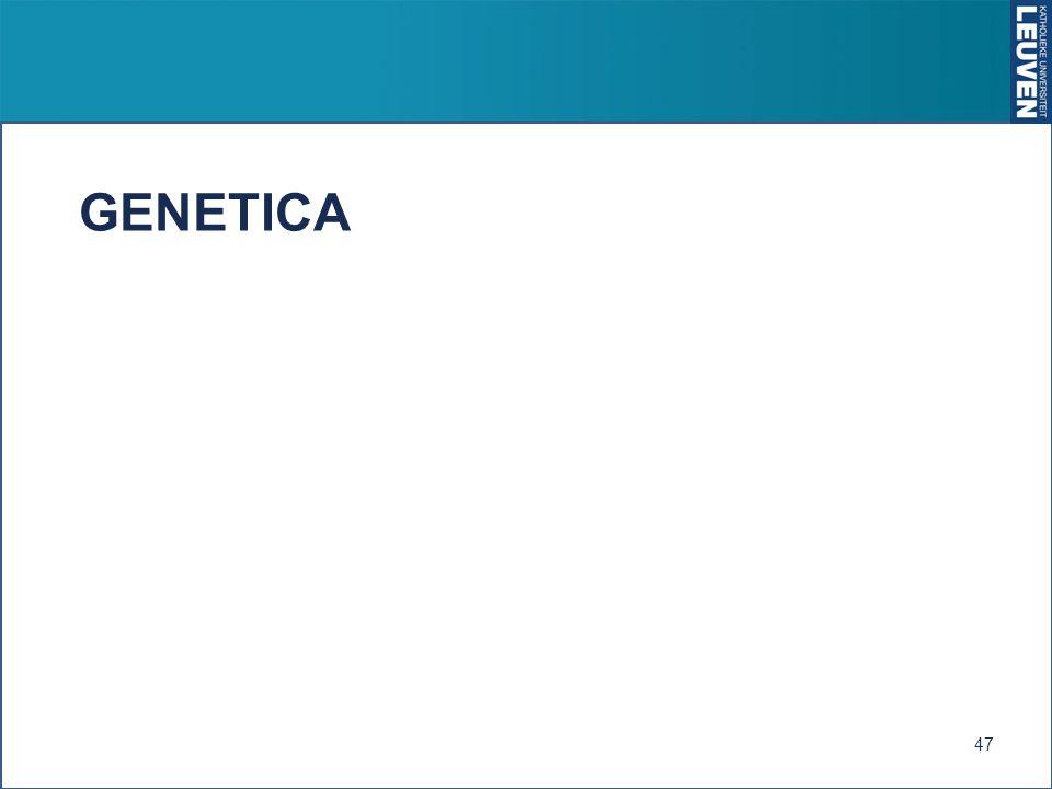 GENETICA 47