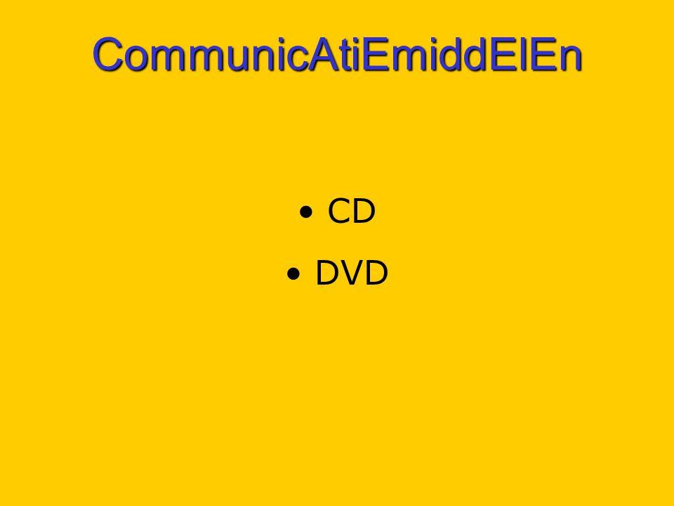 CommunicAtiEmiddElEn CD DVD