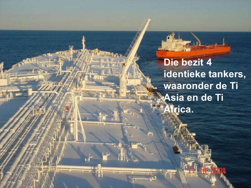 """De tanker behoort tot de Griekse rederij """" Hellespont Shipping Cie """"."""