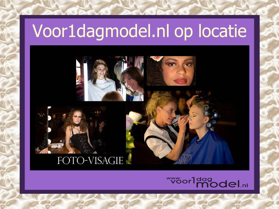 Voor1dagmodel.nl op locatie