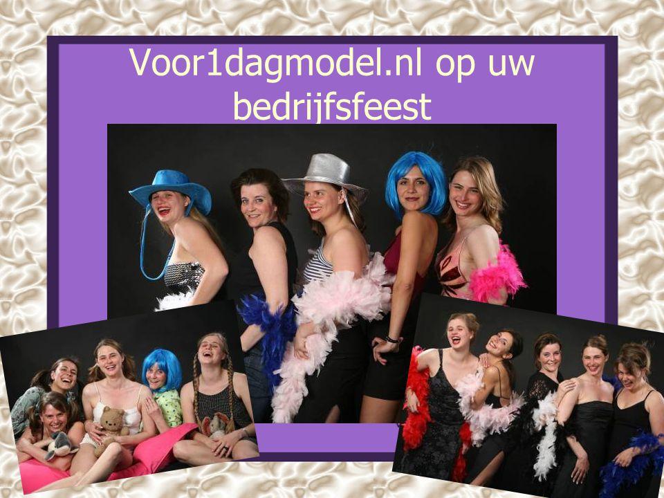 Voor1dagmodel.nl op uw bedrijfsfeest
