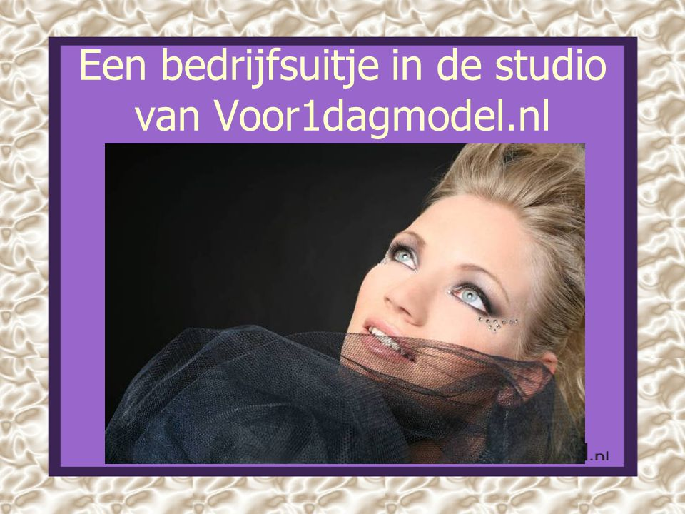 Een bedrijfsuitje in de studio van Voor1dagmodel.nl