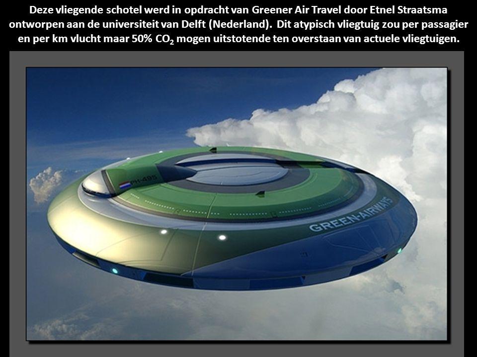 """Dit NASA-concept is veeleer niet-conventioneel voor een vliegtuig. Dit """"zonnezeil"""" gaat lichtenergie als brandstof gebruiken en gaat zich met een vleu"""