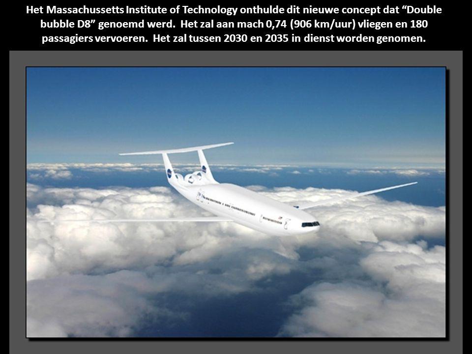 In dit nieuwe concept van Lockheed Martin in 2010 hebben de ingenieurs slechts één straalmotor geplaatst aan de staart van het vliegtuig, niet aan de