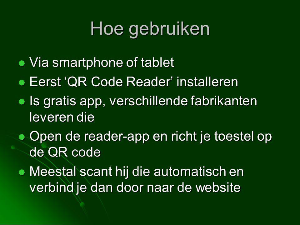 QR-code verspreiden Downloaden Downloaden Embedden of linken Embedden of linken Drukken en verspreiden Drukken en verspreiden