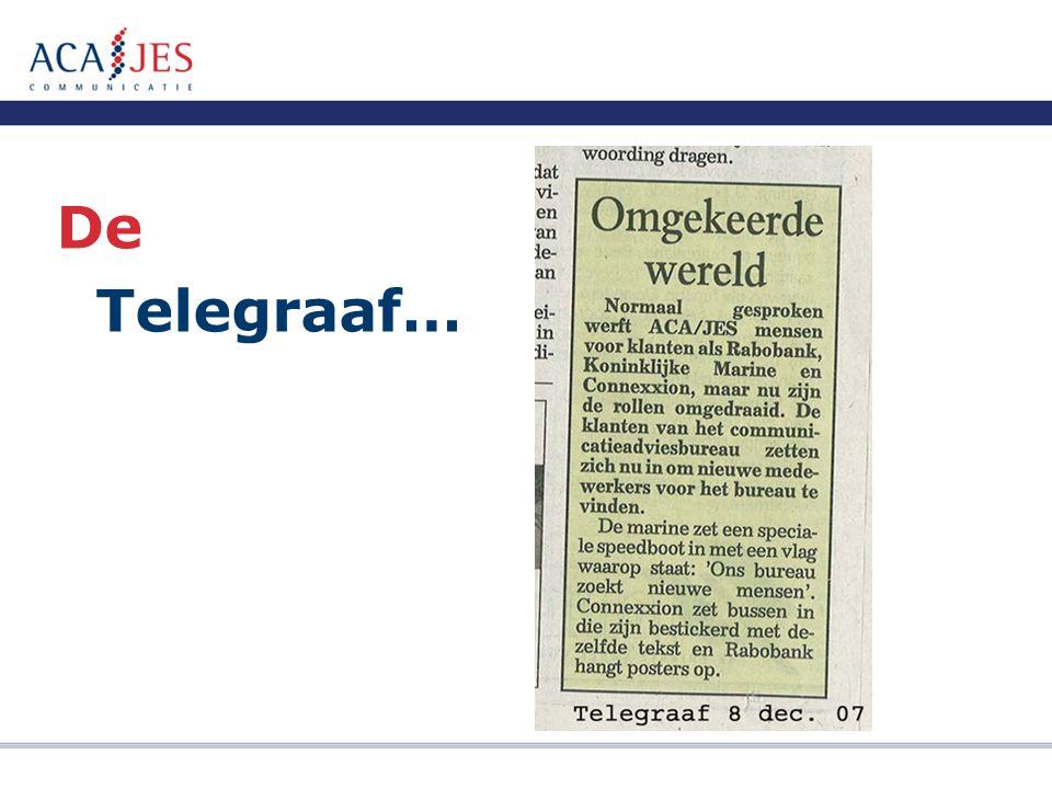 De Telegraaf…