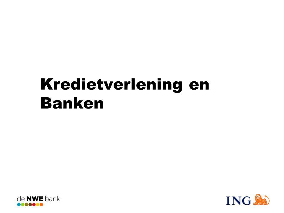 Kredietverlening en Banken