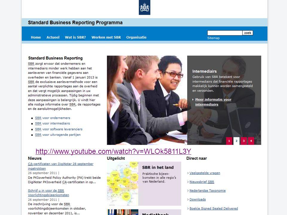 Inleiding Even voorstellen Verplichting van SBR start vanaf 2013 Kantoor- en beroepsorganisaties: – Samenwerking met SBR Programma – Vertegenwoordigen administratiekantoren, accountants en fiscaal adviseurs – Onderscheid in inhoud en niveau van ondersteuning 20