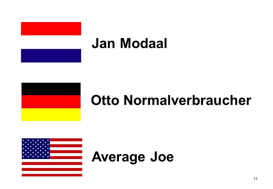 11 Average Joe Otto Normalverbraucher Jan Modaal