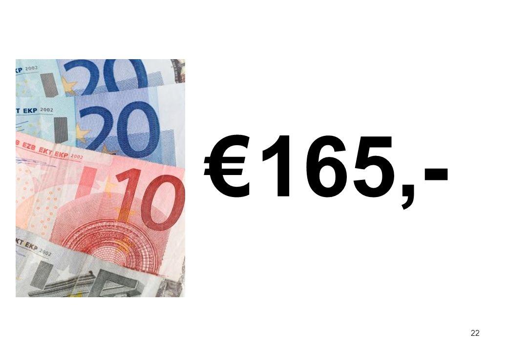 22 € 165,-