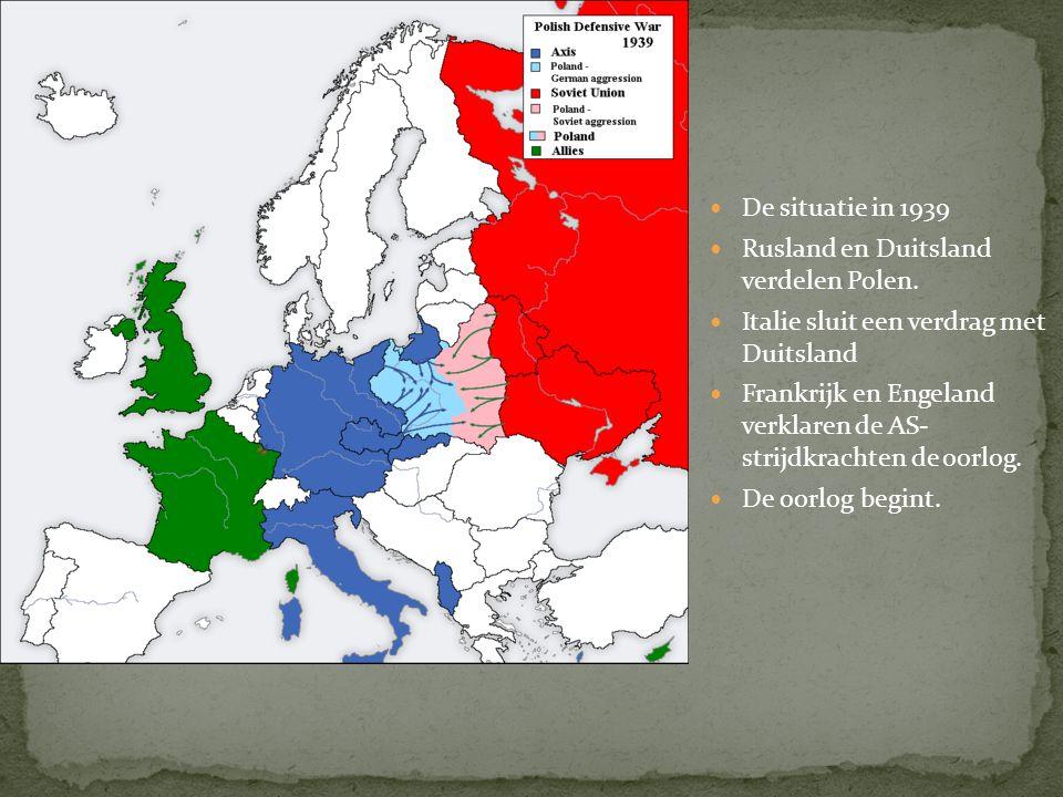 1938 : Duitsland annexeert Oostenrijk Hitler wil een 'groot' duitsland,waarin alle duitstaligen samen leven. 1938 : Duitsland onderhandelt met Engelan