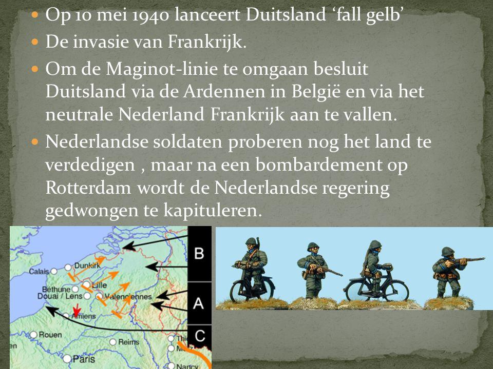Noorwegen en Denemarken worden binnengevallen in april 1940. Duitsland probeert te voorkomen dat Frankrijk en Engeland deze landen te veel gaan helpen