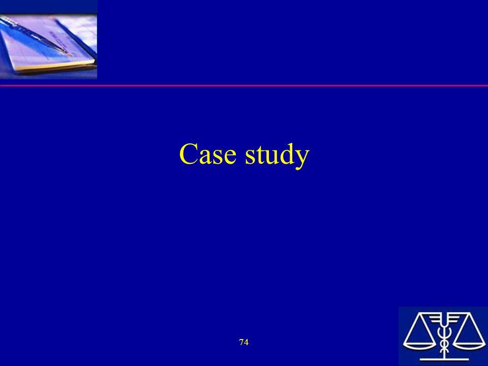 74 Case study