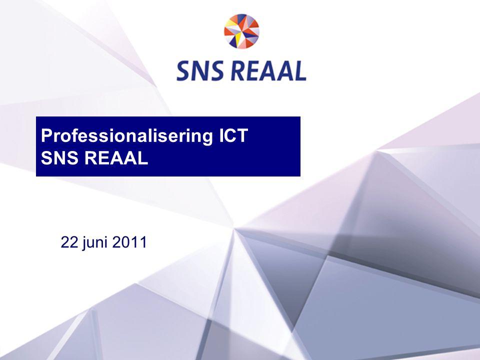 1 Professionalisering ICT SNS REAAL 22 juni 2011