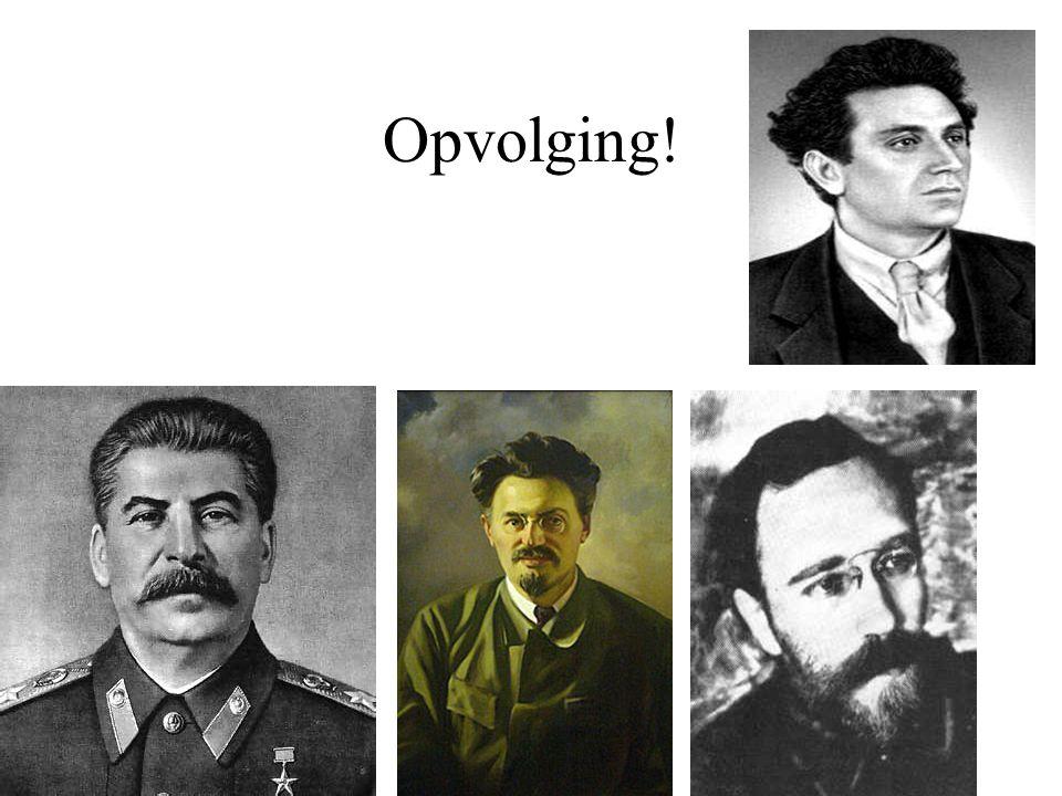 Opvolging!