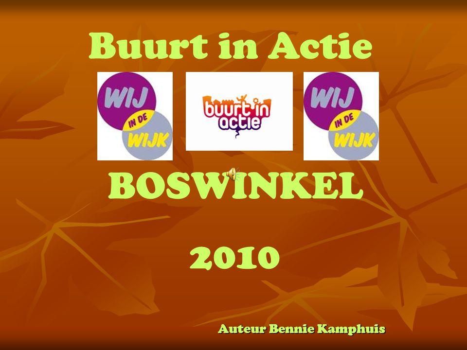 Auteur Bennie Kamphuis Buurt in Actie BOSWINKEL 2010