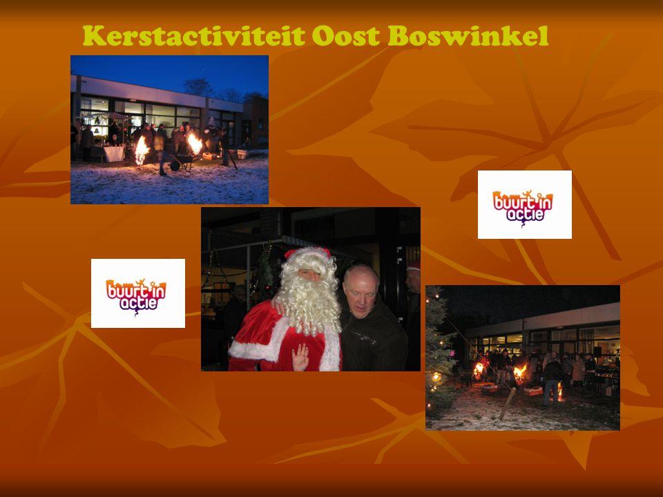 Kerstactiviteit Oost Boswinkel