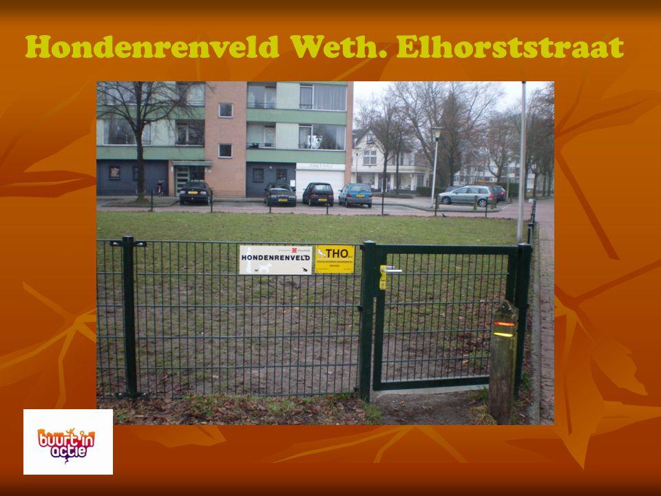 Hondenrenveld Weth. Elhorststraat