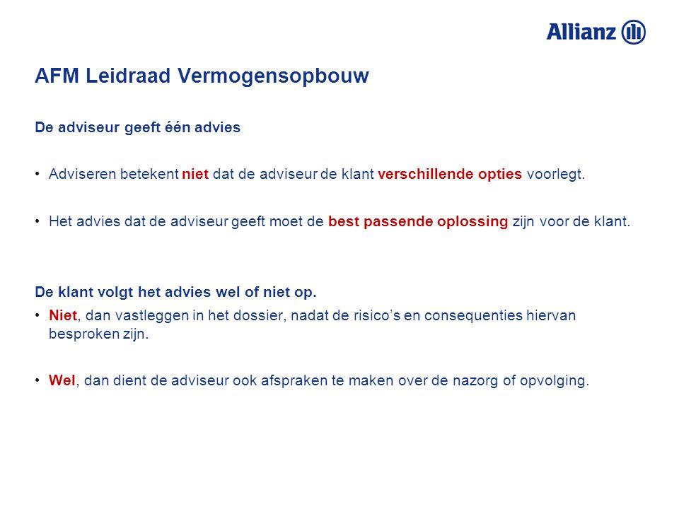 AFM Leidraad Vermogensopbouw Actief versus passief gemanagede beleggingsfondsen Nederlandse markt: Vrijwel alleen maar actief gemanagede fondsen actie