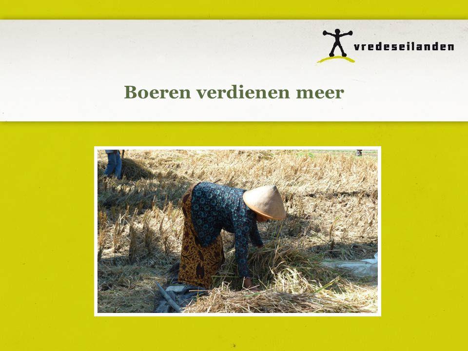 Boeren verdienen meer