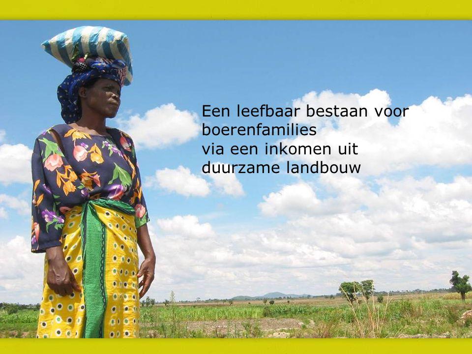 Een leefbaar bestaan voor boerenfamilies via een inkomen uit duurzame landbouw