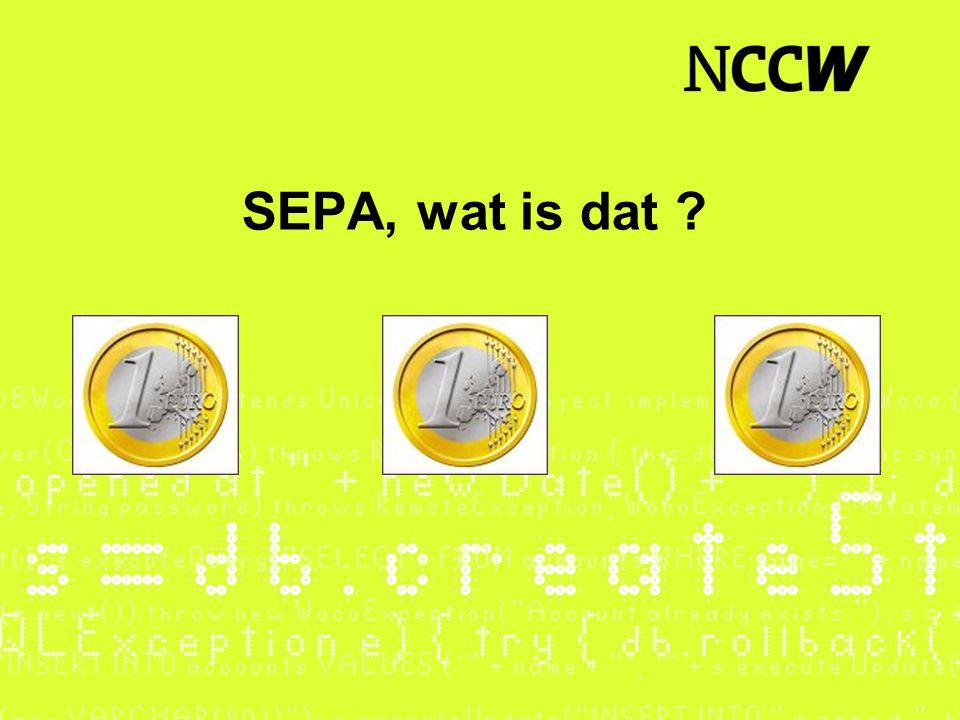 SEPA, wat is dat ?