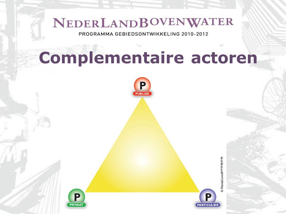 Complementaire actoren