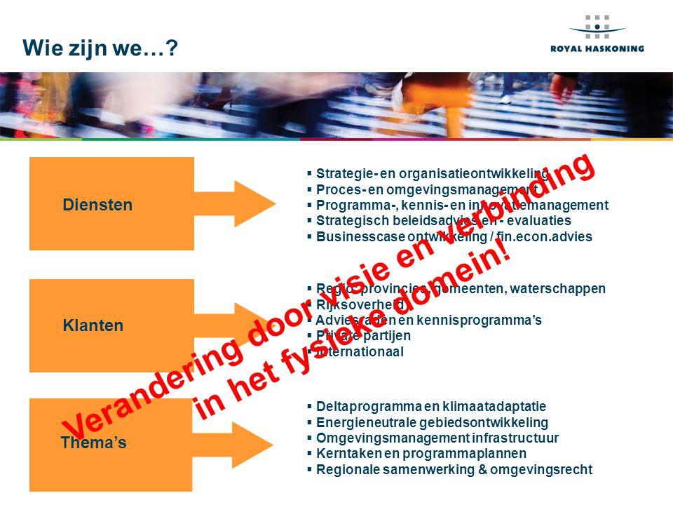 Het publieke domein…… Overheid Burgers MarktNGO's 'Public space' Uit: Strategisch management voor de publieke zaak, Steven de Waal, 2008