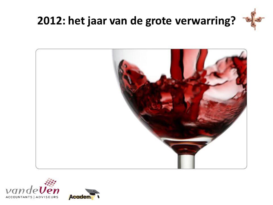 2012: het jaar van de grote verwarring