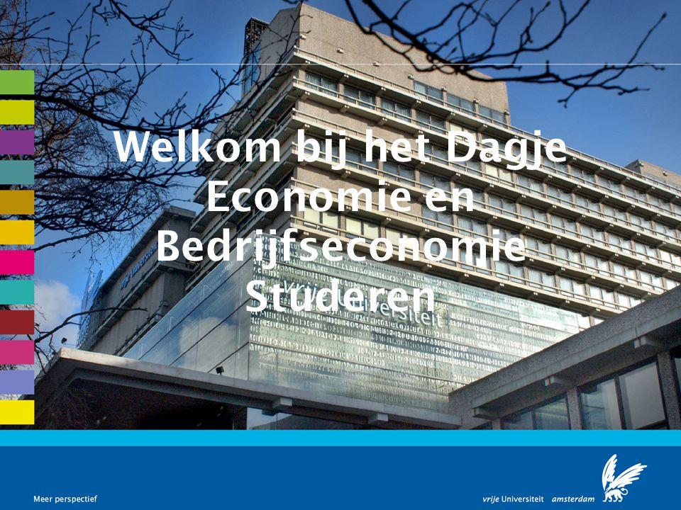 Welkom bij het Dagje Economie en Bedrijfseconomie Studeren