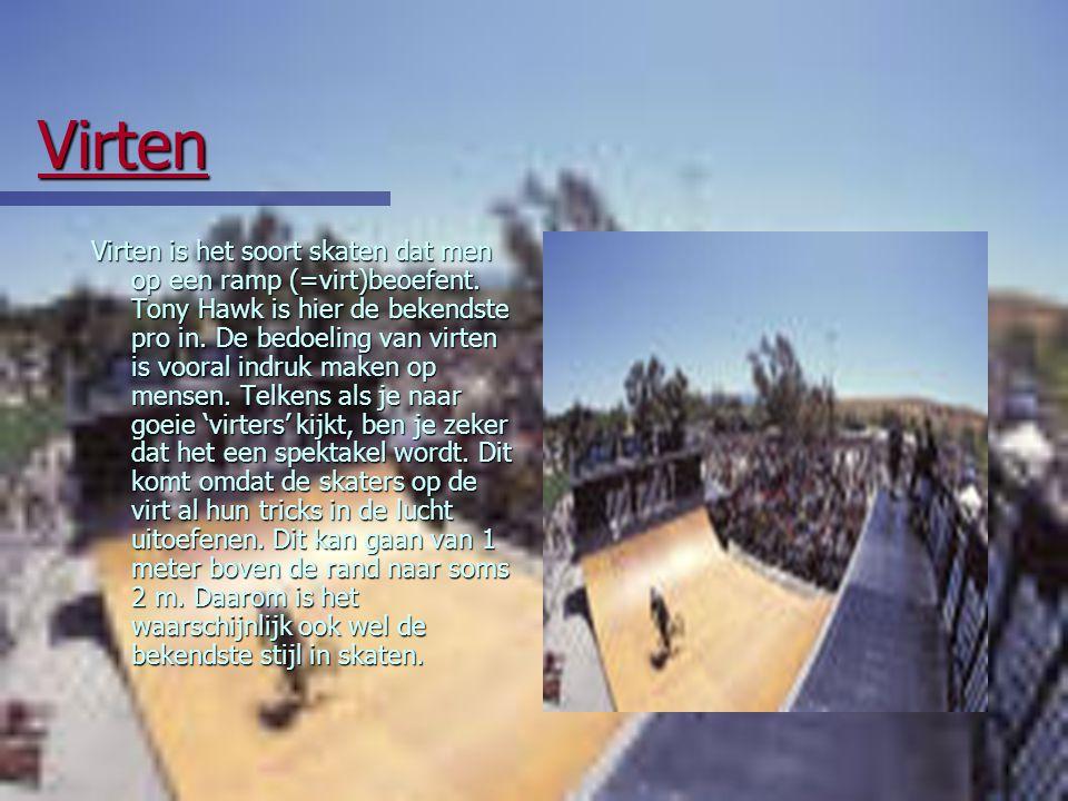 Nu we dit gehad hebben zou ik graag eens de soorten skateboarding voorstellen.