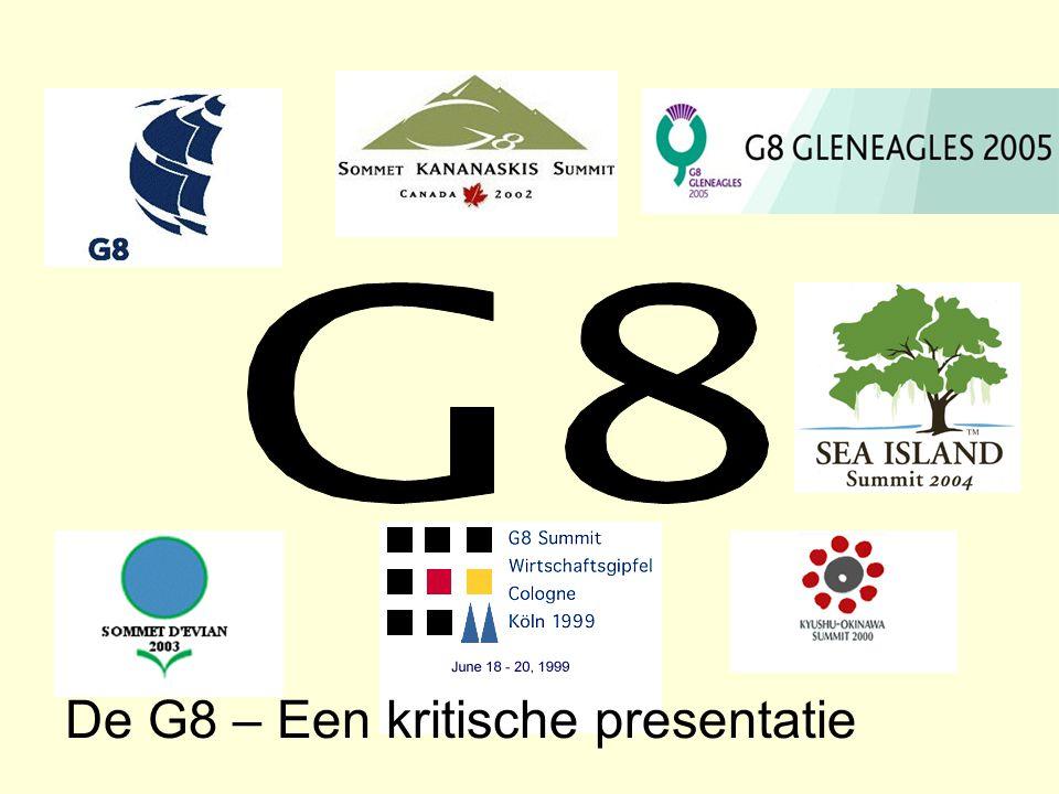 De G8 – Een kritische presentatie