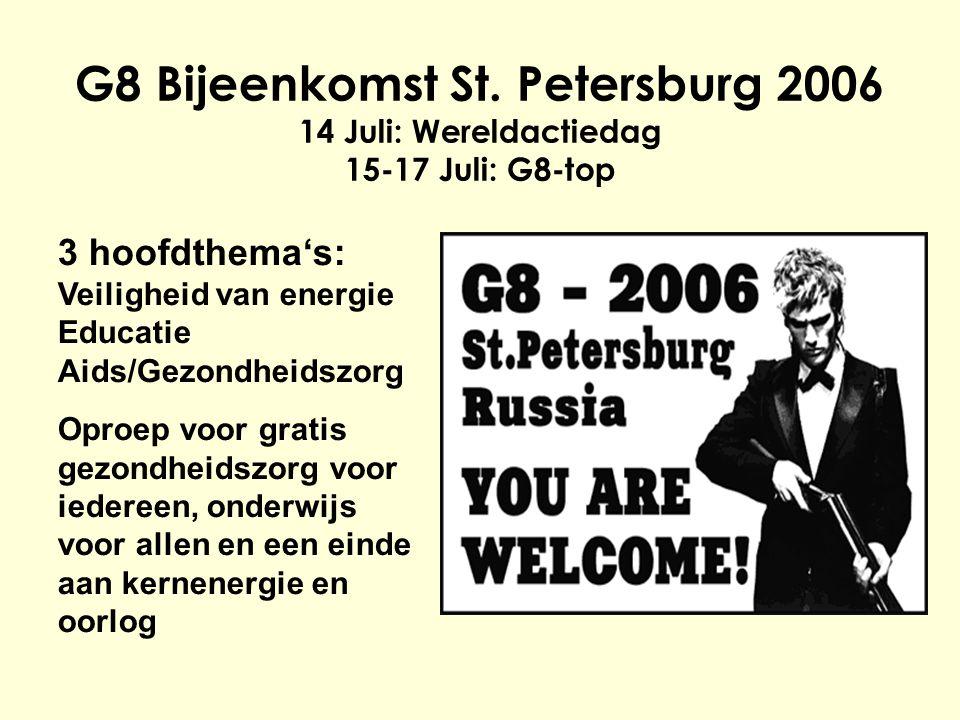 G8 Bijeenkomst St.