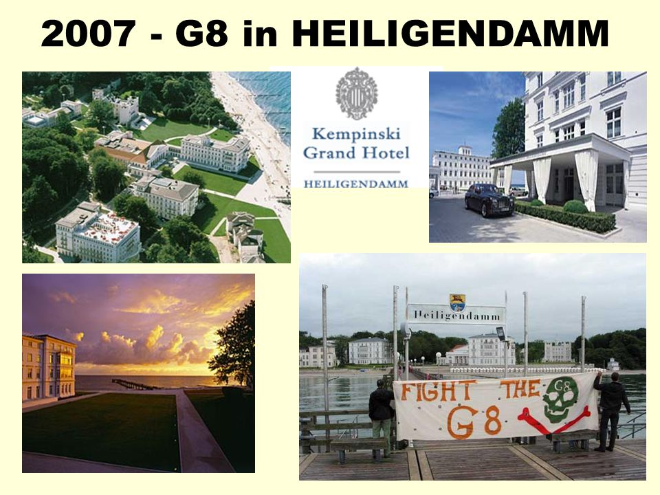 2007 - G8 in HEILIGENDAMM