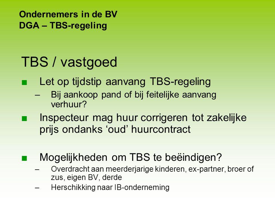 Werkgever - werknemer Geen aftrek loonkosten SAR's Aftrekbeperking VPB-winst ■ SAR's toegekend werknemer met loon > € 500 000. –Loon in de zin loonbel