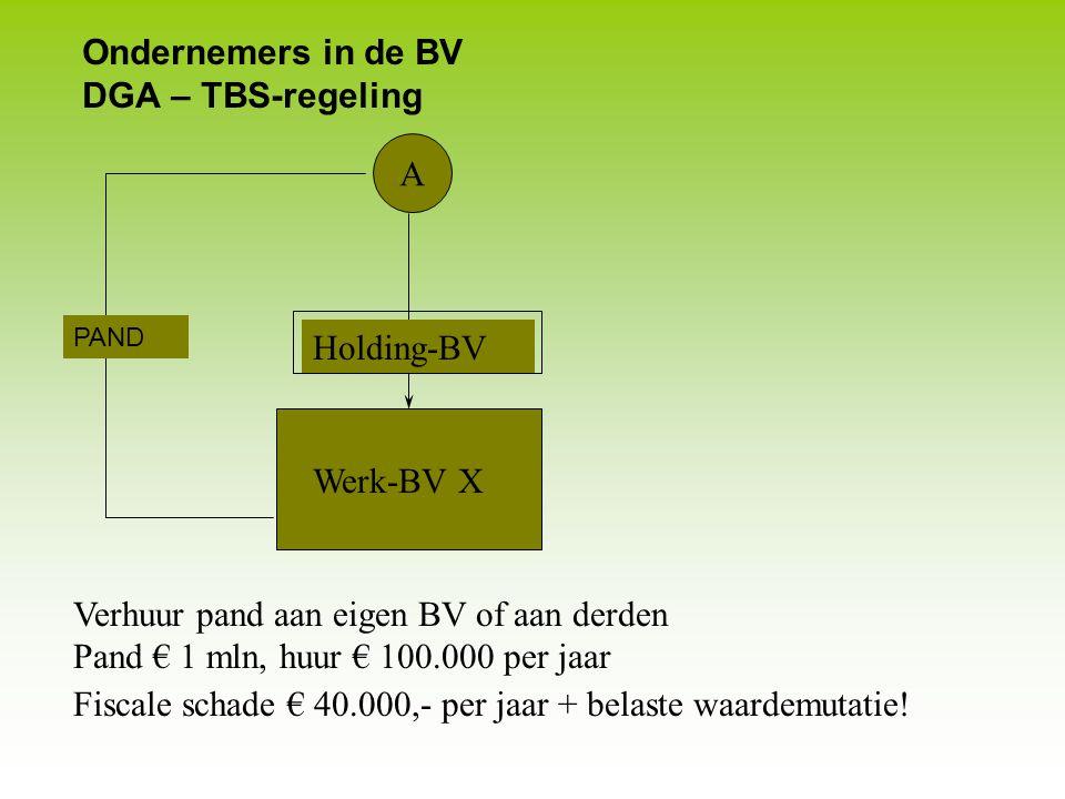 Onroerende zaken Splitsen rechten Afschrijving 2007 e.v. Samentelbepaling: € 274.500 + € 92.500 = € 367.000 Af te schrijven tot WOZ € 350.000 x ½ = €