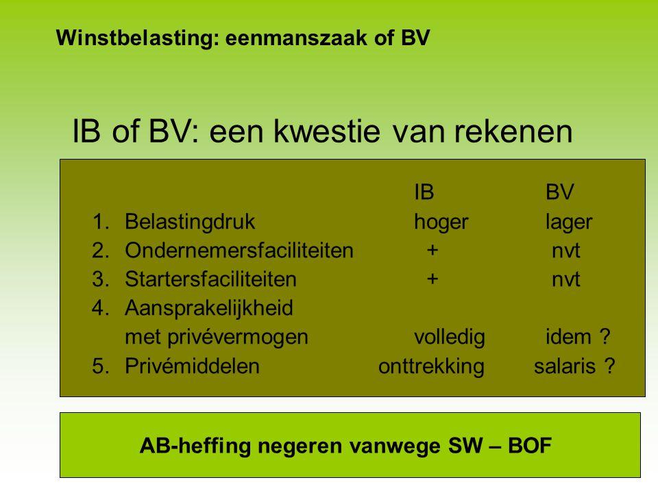 Winstbelasting Steeds verder van rechtsvormneutraal VPB ■Tarief 2008 naar 20% over € 275.000 winst –Eenmalig voor 2008; verrekenen tegoed rentebox –Be