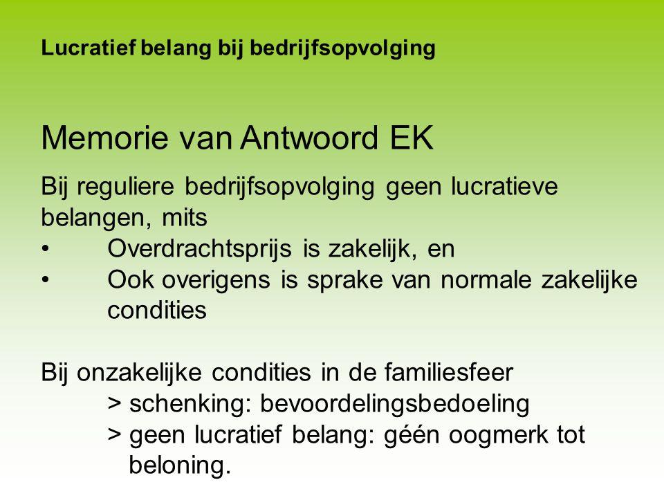 Lucratief belang bij bedrijfsopvolging A Holding BV € 18.000 nominaal 7% cum.prefs Werk-BV Z Holding-BV € 1.500 nominaal gewone aandelen Achtergesteld