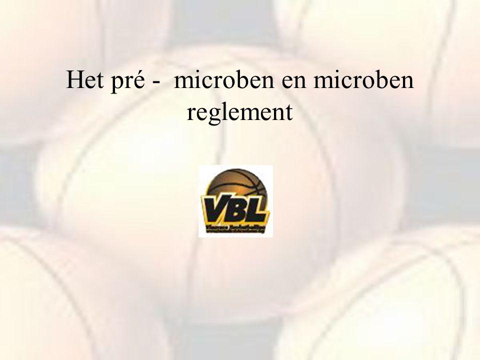 Het pré - microben en microben reglement