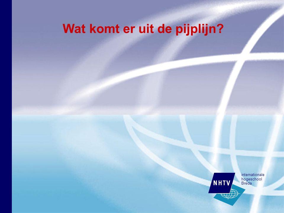 internationale hogeschool Breda Wat komt er uit de pijplijn
