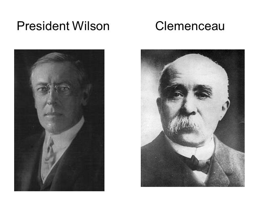 President Wilson Clemenceau
