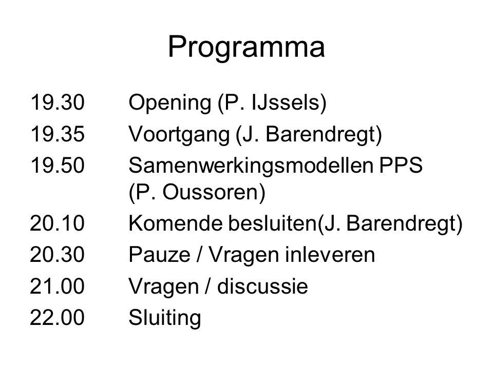 Deelname OPP Voordelen: Know-how gebiedsontwikkeling Ervaring in PPS-projecten Onafhankelijk van bouwbedrijven Dochter van Bank Ned.