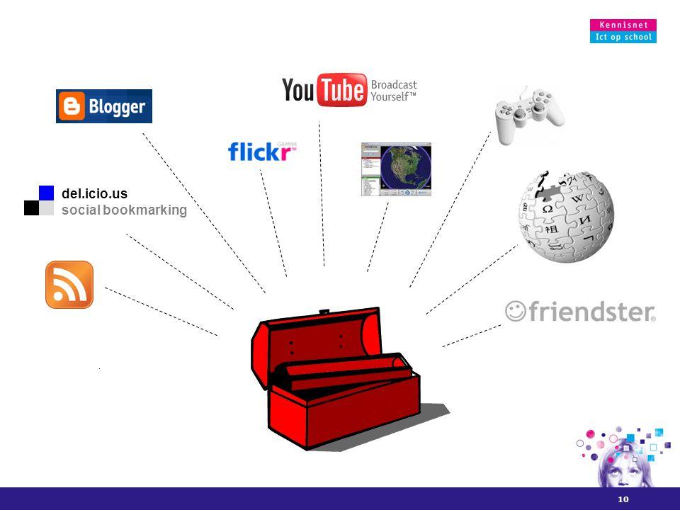 10 del.icio.us social bookmarking