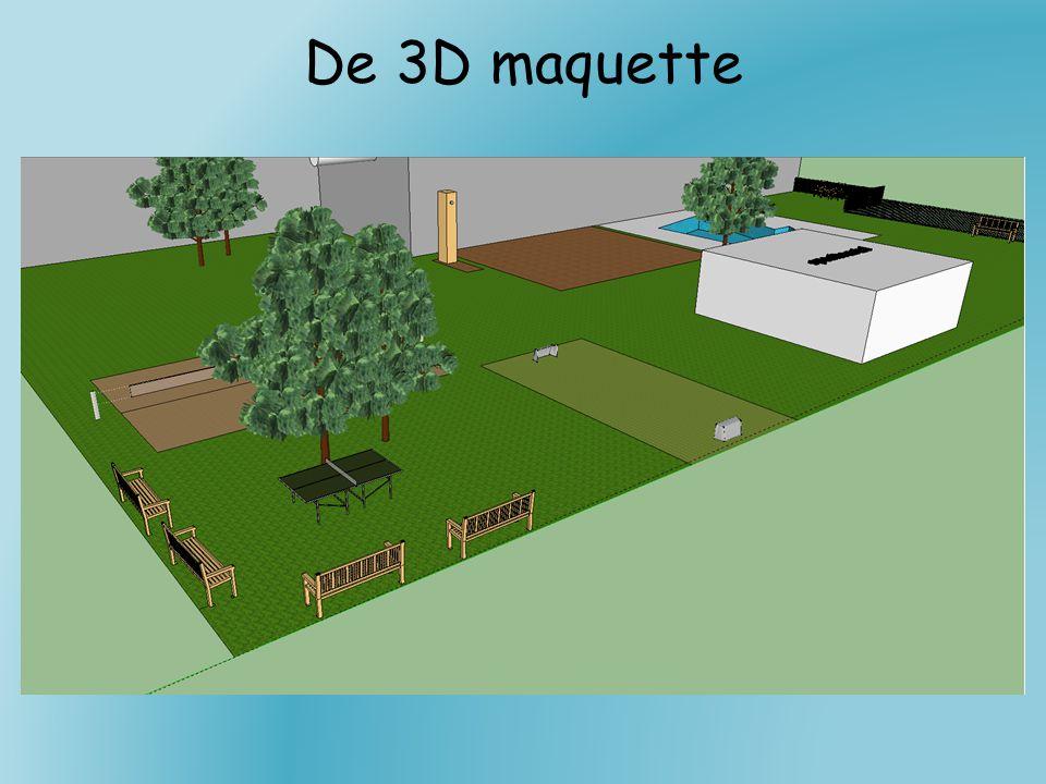 De 3D maquette